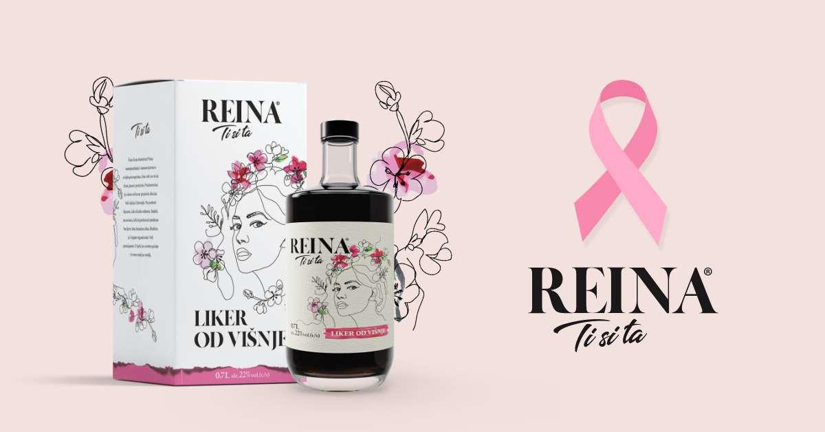 """REINA u borbi protiv raka dojke """"Ti si snaga"""""""